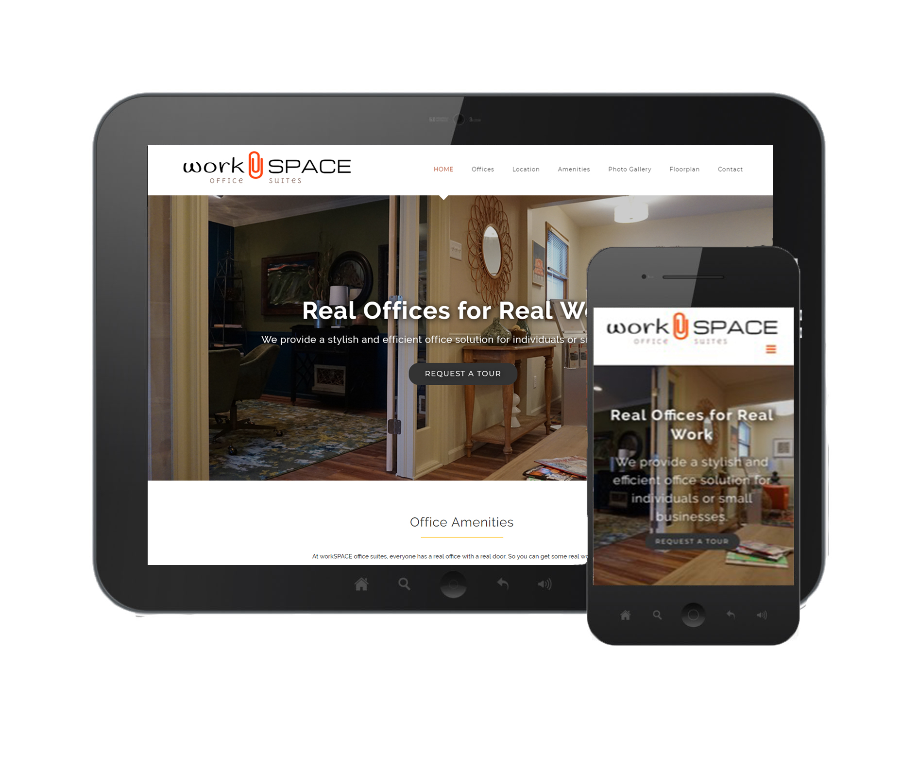 WorkSpace Mobile Site Image