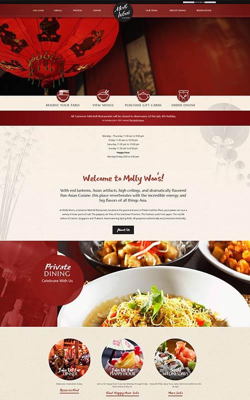 Molly Woos website